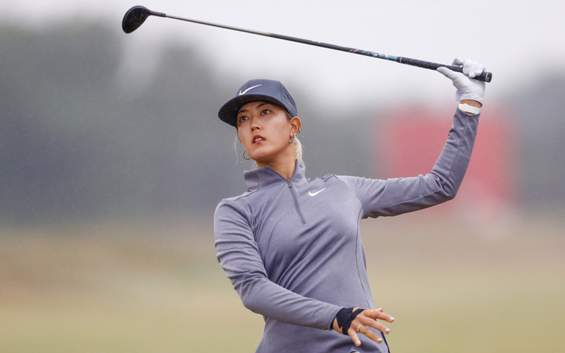 Michelle Wie. Crédit photo : Simon Davies/DPPI/Icon Sportswire