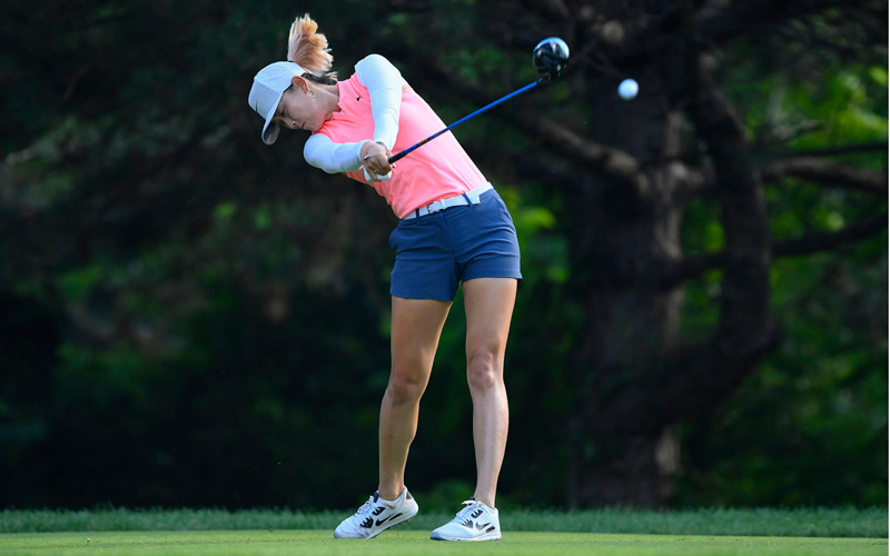 Michelle Wie. Crédit photo : Quinn Harris/Icon Sportswire