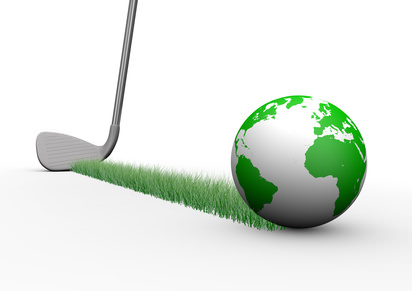 Le monde du golf : une petite balle qui roule...