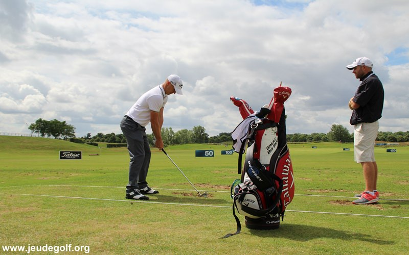 Alex Noren vue à Paris pour l'Open de France 2016