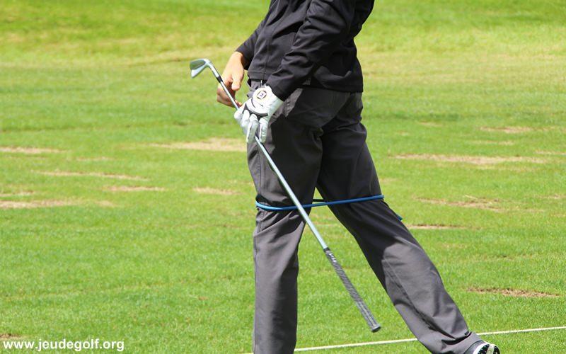 L'importance du jeu de jambes pour un swing plus consistant