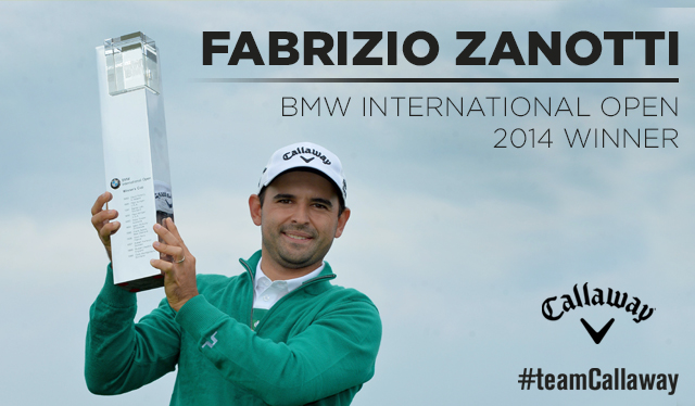 Fabrizio Zanotti, primo vainqueur sur l'European Tour