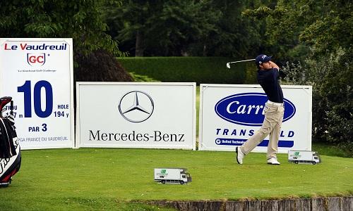 Vaudreuil Golf Challenge: Lionel Weber contre-attaque les suédois