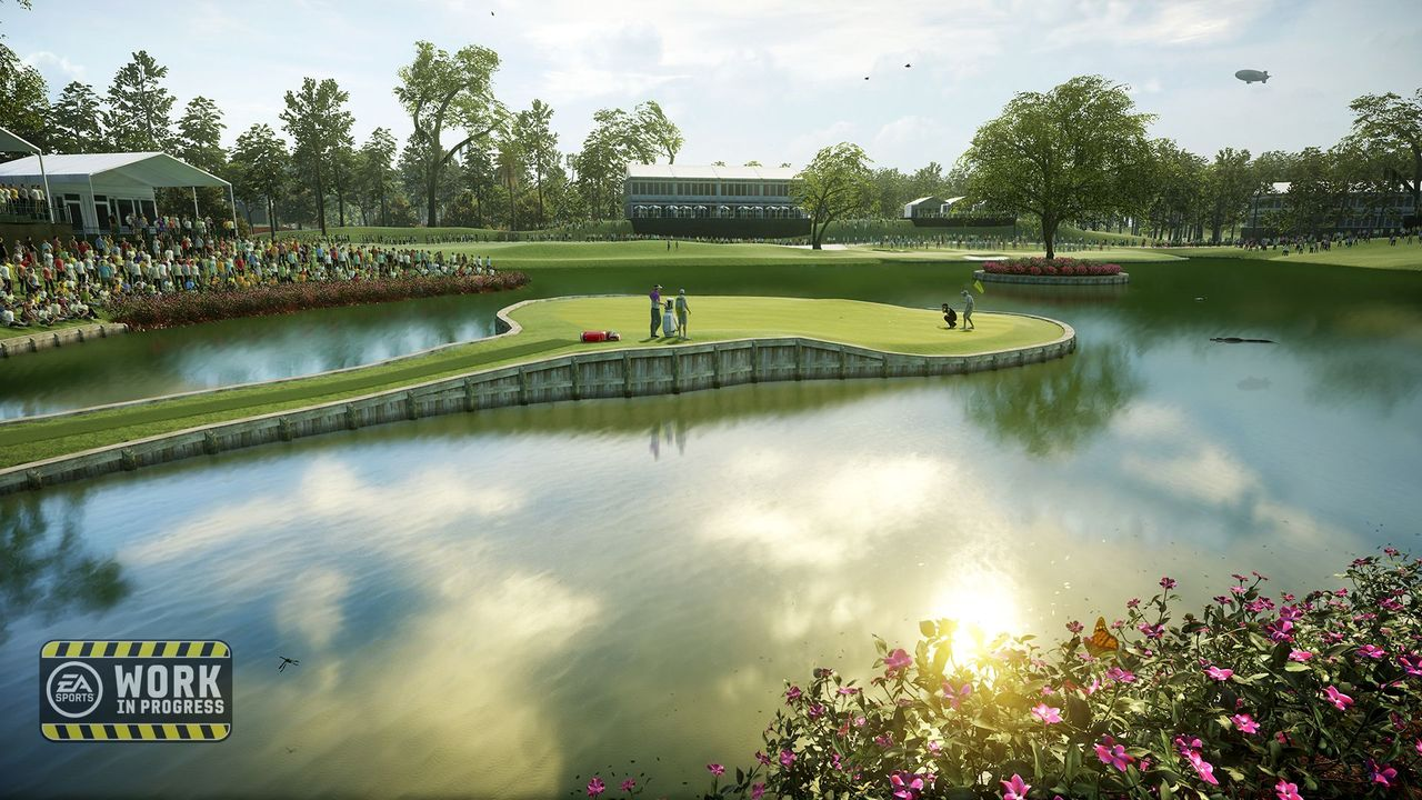 Visuel du futur jeu de golf d'EA Sports