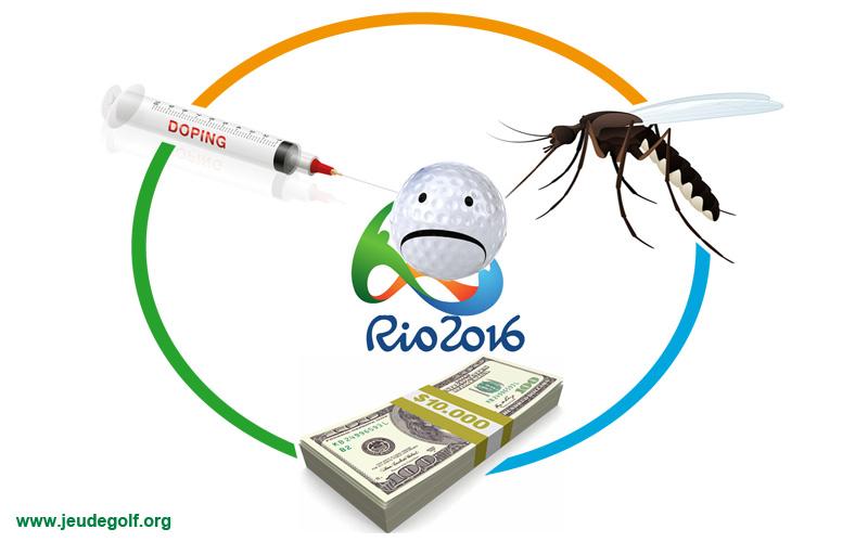 Golf aux JO de Rio : Zika, l'argent, et le dopage…