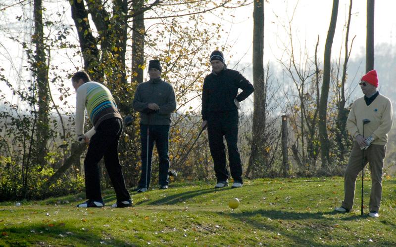 jouer au golf en hiver les distances