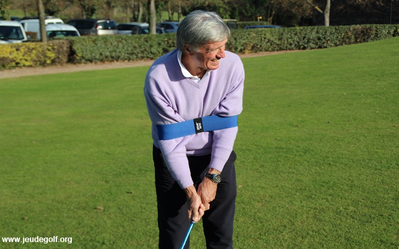 Labo Golf: Test de la Power Band pour le swing de golf