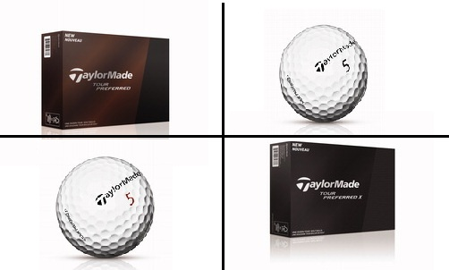 Balles de golf TaylorMade Tour Preferred