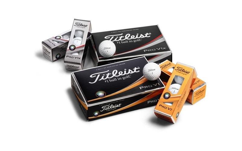 Nouvelles balles Titleist Pro V1 et Pro V1 X 2017