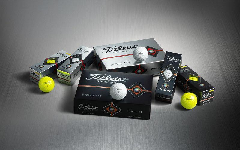 Nouvelles balles Titleist Pro V1 et Pro V1 X 2019