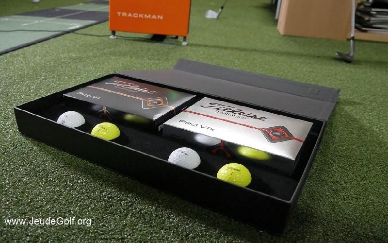 Test des balles Titleist Pro V1 et Pro V1X 2019