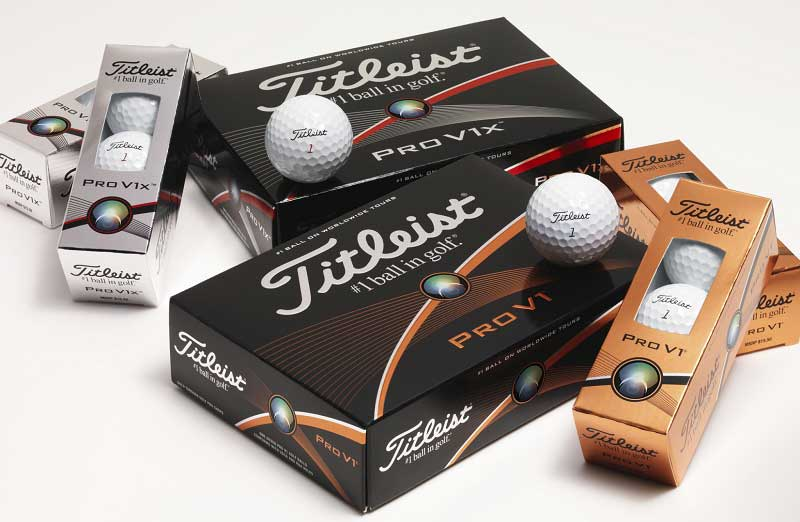 Balles de golf Titleist Pro V1 et Pro V1x 2015