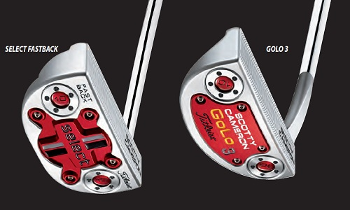 Putters Scotty Cameron Select & Golo 2014