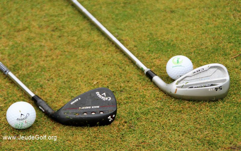 Comparatif wedges Callaway MackDaddy 4 vs Cleveland CBX