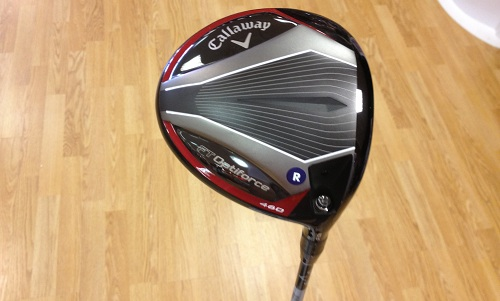 semelle du driver Callaway FT Optiforce