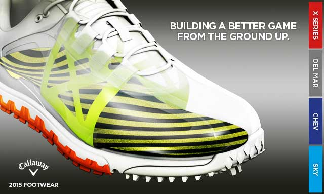 Nouvelles chaussures de golf Callaway pour 2015