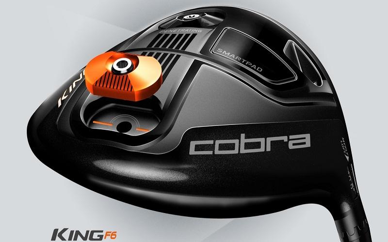 Driver Cobra King F6 titane