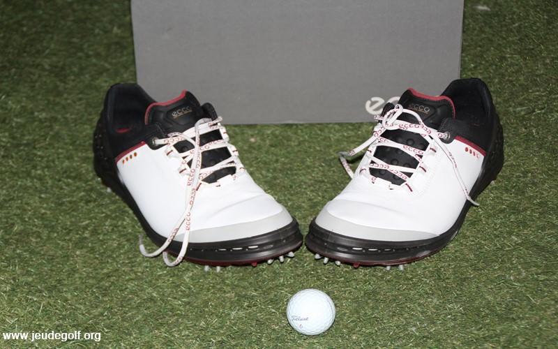Chaussures de golf ECCO CAGE: Pour un maintien maximisé du talon