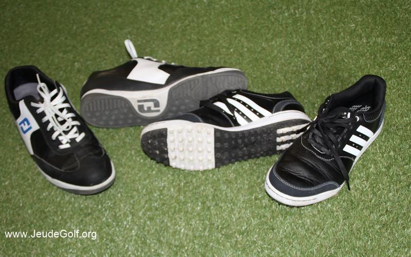 Comparatif chaussures de golf spikeless à moins de 90 €