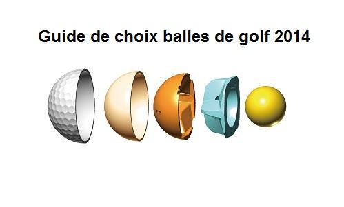 Guide de choix des balles de golf 2014
