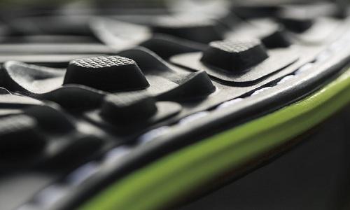 Semelle et crampons pour une chaussure de golf