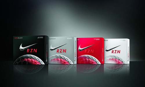 Balles de golf Nike RZN avec technologie Speedlock Core