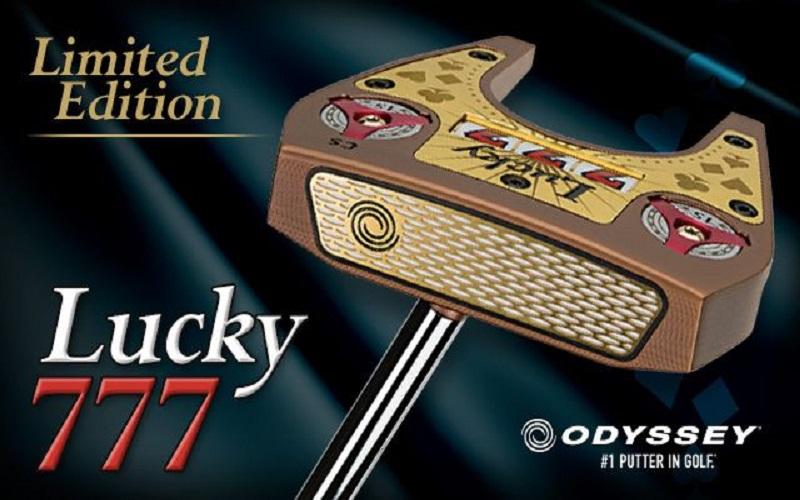 Putter Odyssey Lucky 777 en édition limitée