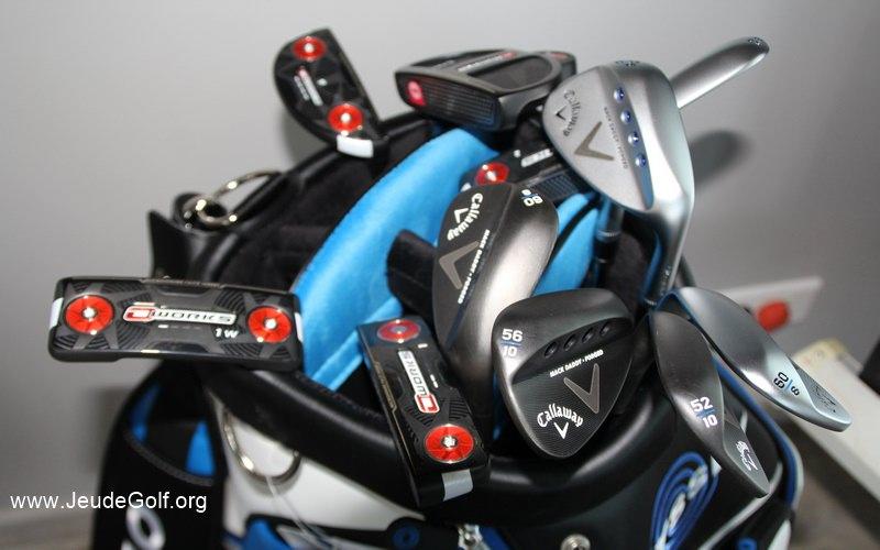 gamme de putters Odyssey O Works