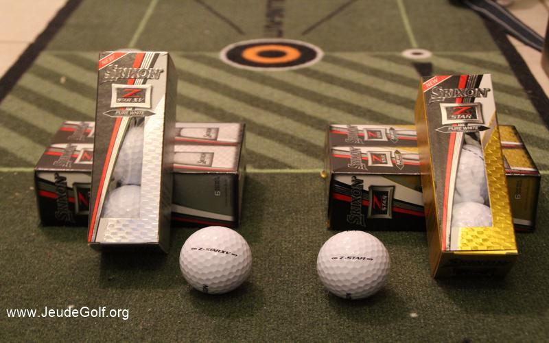 Balles de golf Srixon Z-Star et Z-Star XV 2017