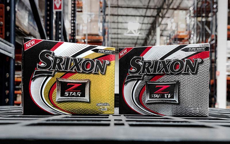Nouvelles balles Srixon Z-Star et Z-Star XV 2019