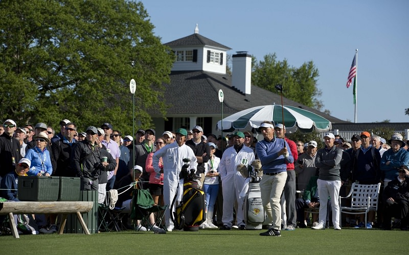 It's « Masters Show Time » à Augusta !