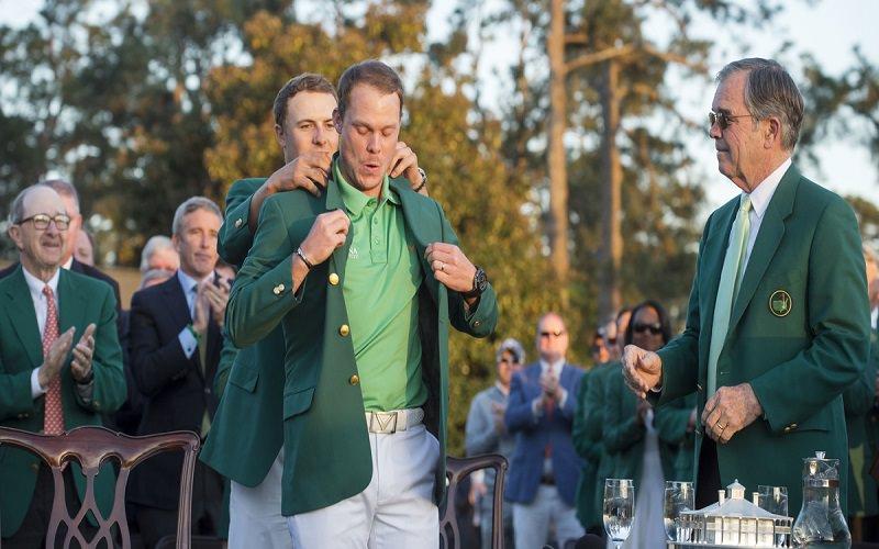 La cérémonie de la veste verte pour Danny Willett - Crédit photo : Mark Newcombe