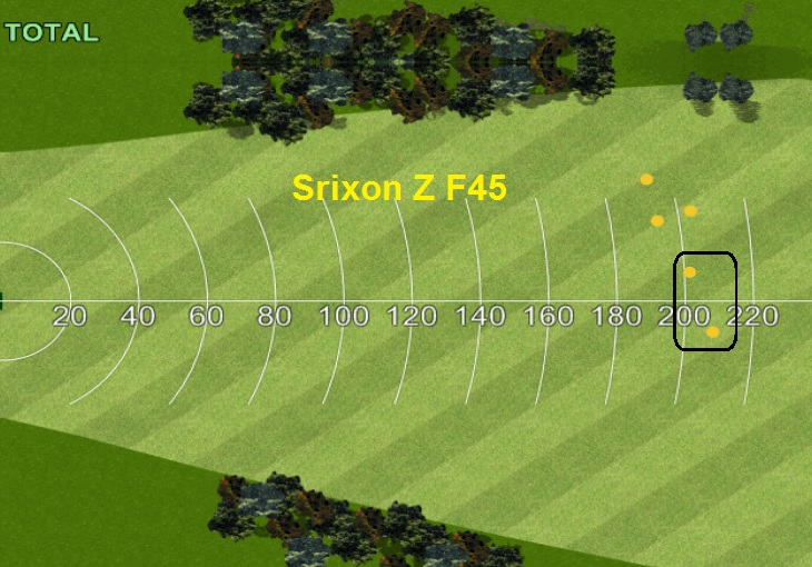 Dispersion Srixon Z F45