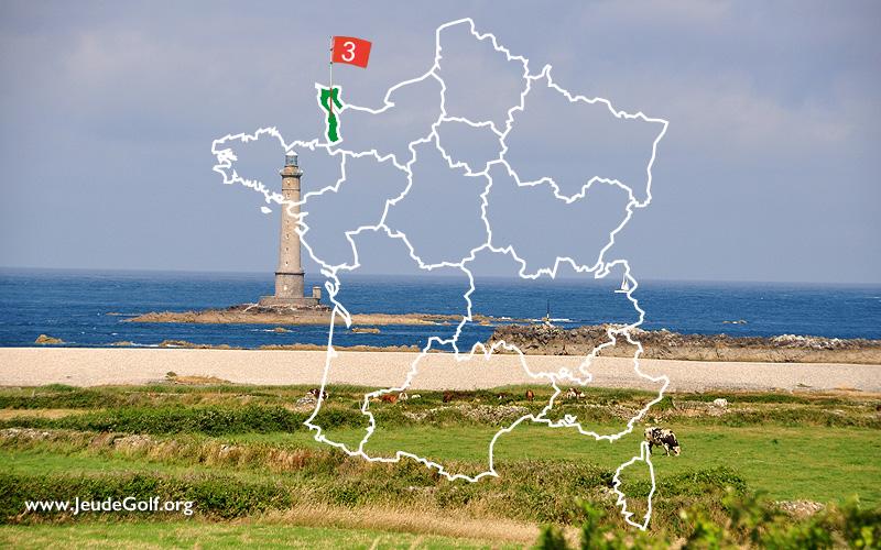 La route des golfs par les côtes. N°3 La Normandie, le Cotentin