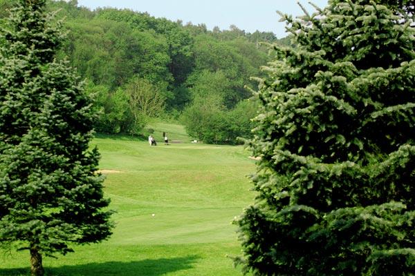 Vue du parcours du golf d'Ableiges