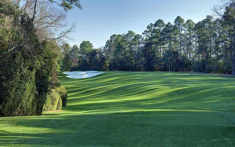 Le trou appelé Magnolia à Augusta, un des plus difficiles du parcours