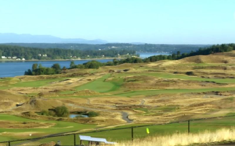 Chambers Bay, le parcours de l'US Open de golf 2015 ne laisse pas indifférent