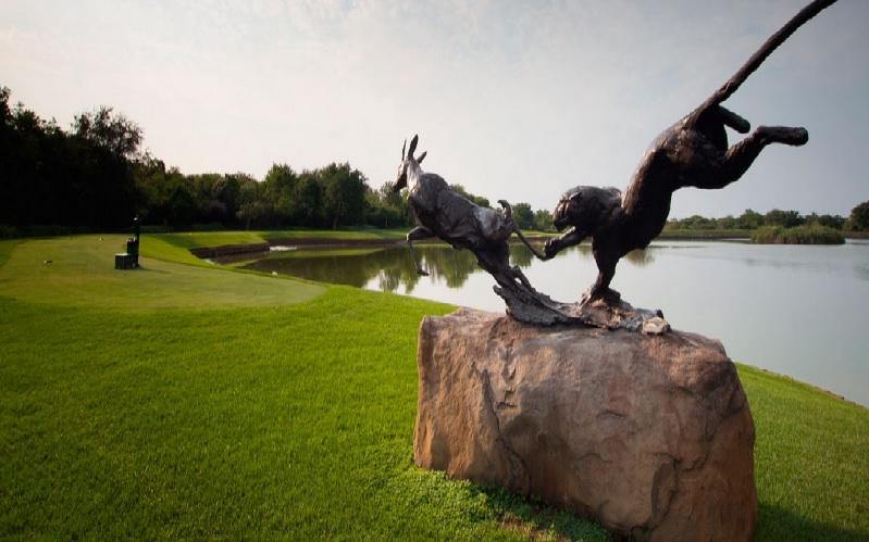Leopard Creek: Jouez au « wild-golf » en Afrique du Sud