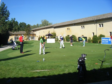 Putting green du golf du Gouverneur