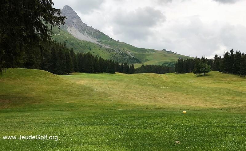 Golf de Méribel: ça c'est du sport !