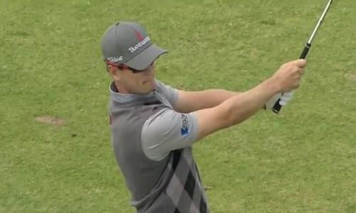 Zach Johnson au British Open 2012