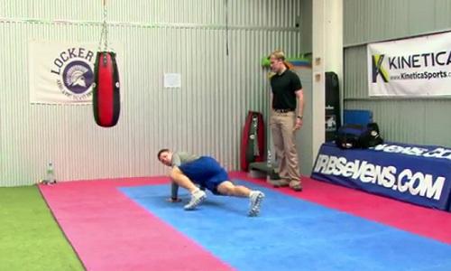 Exercice musculaire pour renforcer la coordination