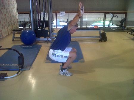 Flexion des genoux