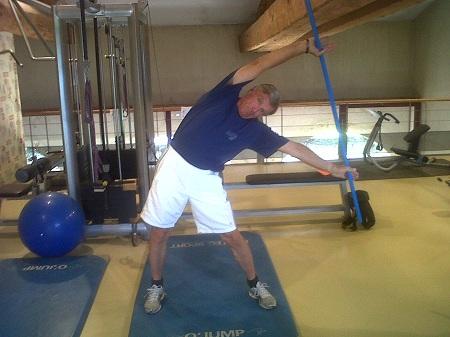 suite flexion latérale du corps