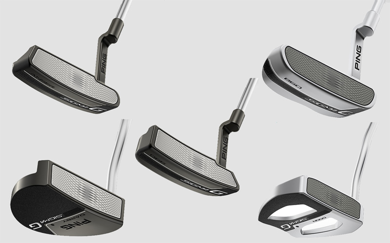 Putters Ping 2017 : série Sigma G