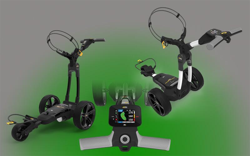 Chariots de golf électriques PowaKaddy FX, nouvelle gamme 2021