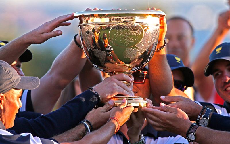 President's Cup 2019, l'équipe américaine et l'équipe internationale s'affrontent en Australie