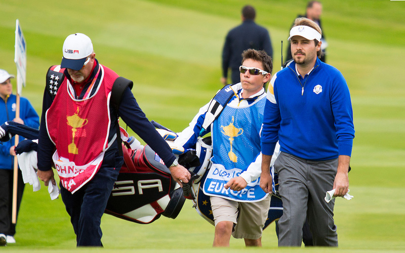 Victor Dubuisson, Ryder Cup 2014. Photo Marck Newcombe