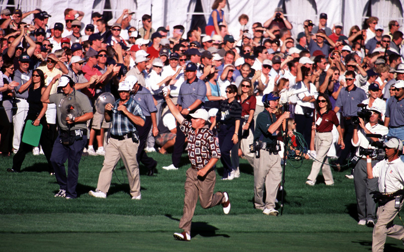 Justin Leonard, Ryder Cup 1999. Photo Marck Newcombe