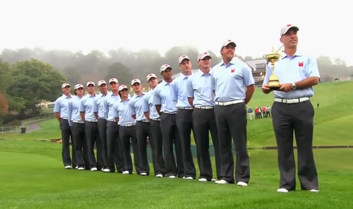Ryder Cup 2010 : team USA